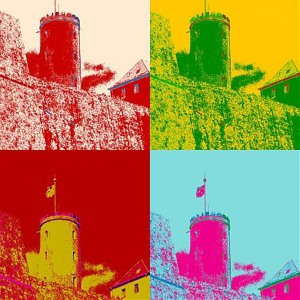Sparrenburg PopArt1